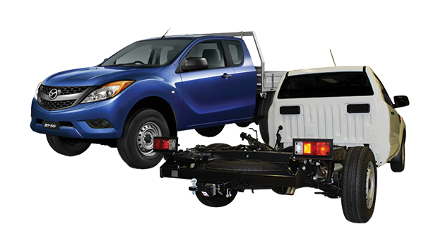 Ford, Ranger, PXII, Cab Chassis & Mazda BT-50, UR, Cab Chassis